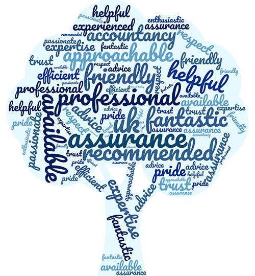 Accountants in Swansea - word cloud